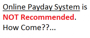 online payday system