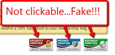 fake badges