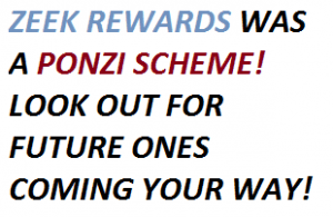 zeek rewards scam