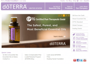 doterra essential oils scam